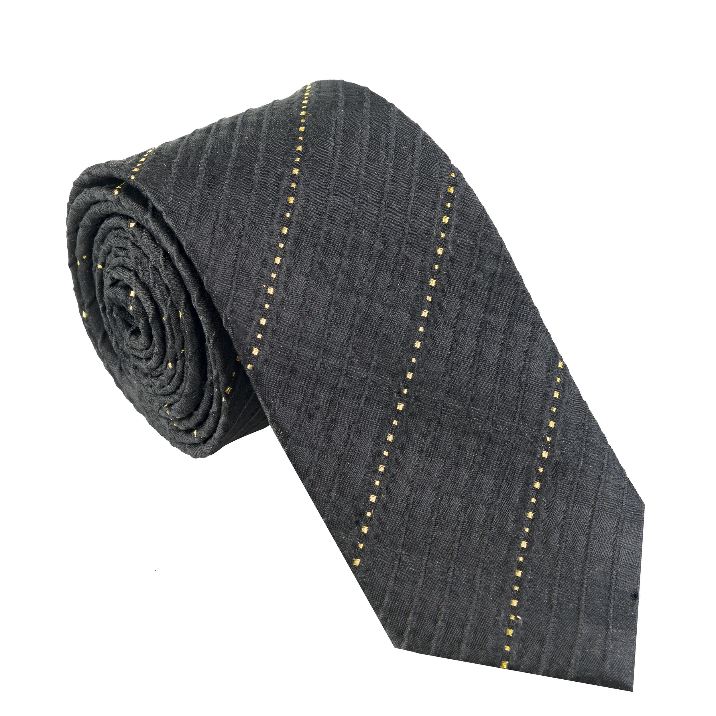 کراوات مردانه جیان فرانکو روسی مدل GF-ST893-BK