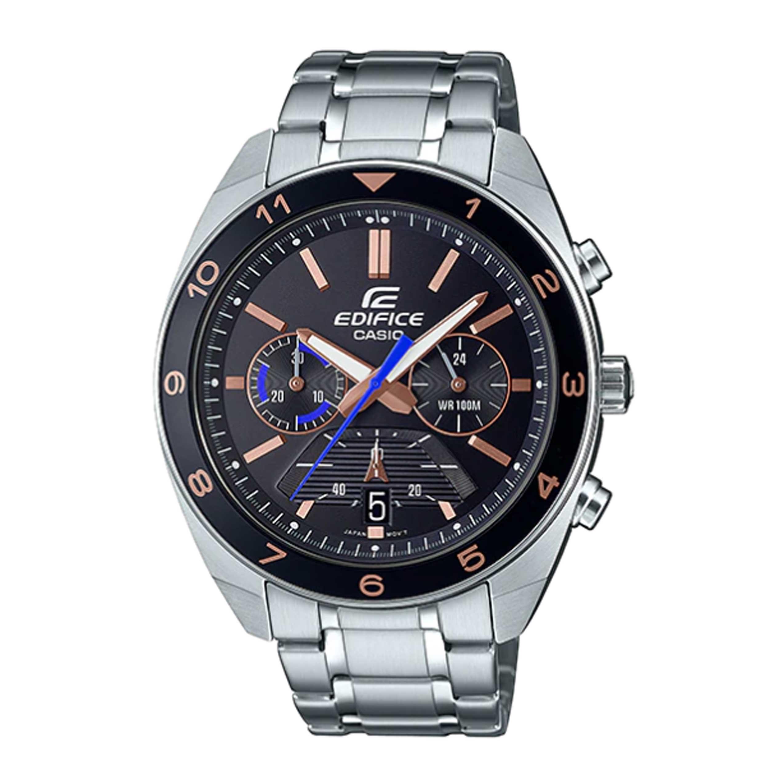 ساعت مچی عقربهای مردانه کاسیو مدل EFV-590D-1A