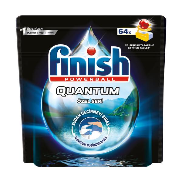 قرص ماشین ظرفشویی فینیش مدل Quantum Ozel Series بسته 64 عددی