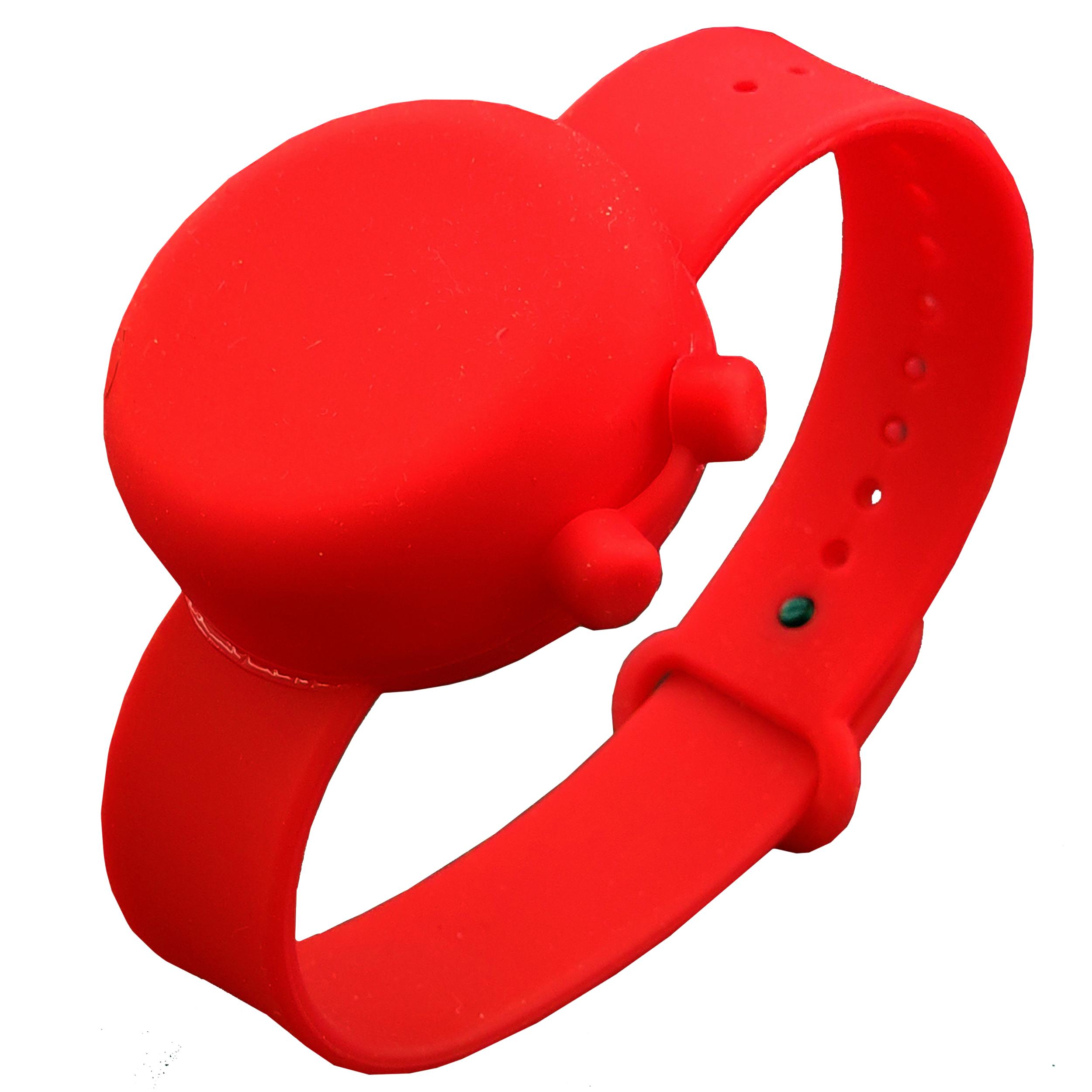 دستبند نگهدارنده ژل ضد عفونی کننده مدل 02