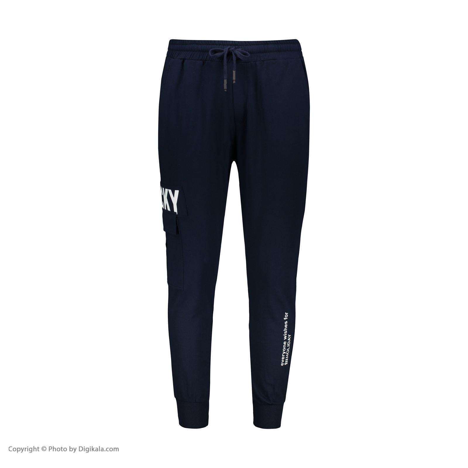 تصویر شلوار ورزشی مردانه هالیدی مدل 853609-NAVY BLUE