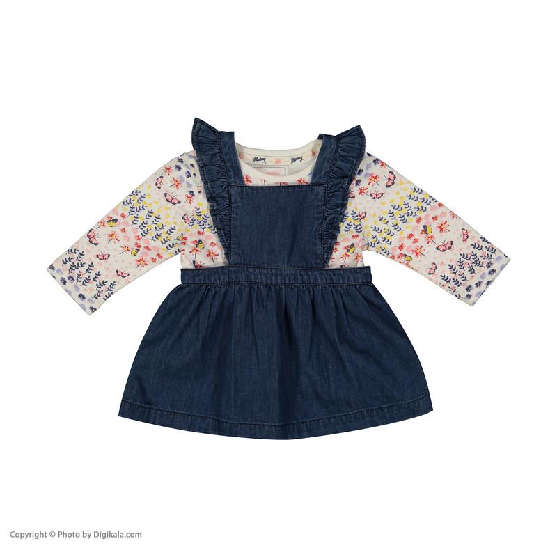 ست 3 تکه لباس نوزادی دخترانه دبنهامز کد 2220202934