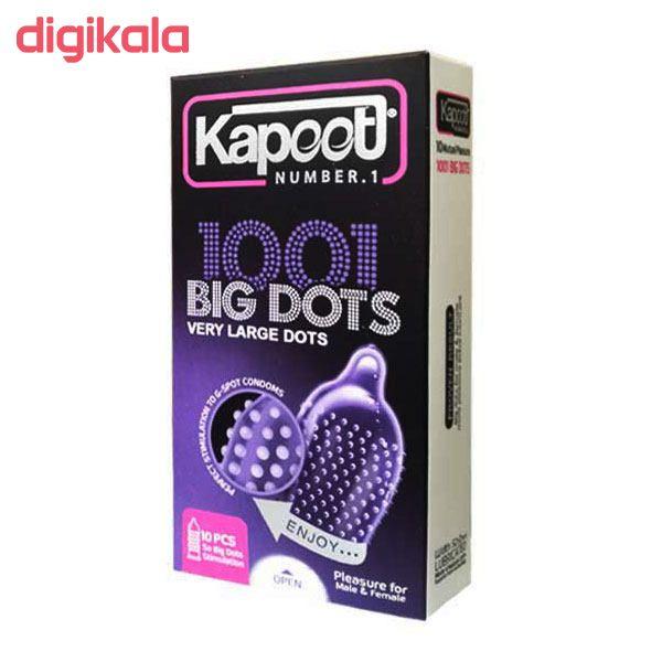 کاندوم ناچ کدکس مدل BIG DOTS بسته 10 عددی به همراه کاندوم کاپوت مدل BIG DOTS بسته 10 عددی main 1 2