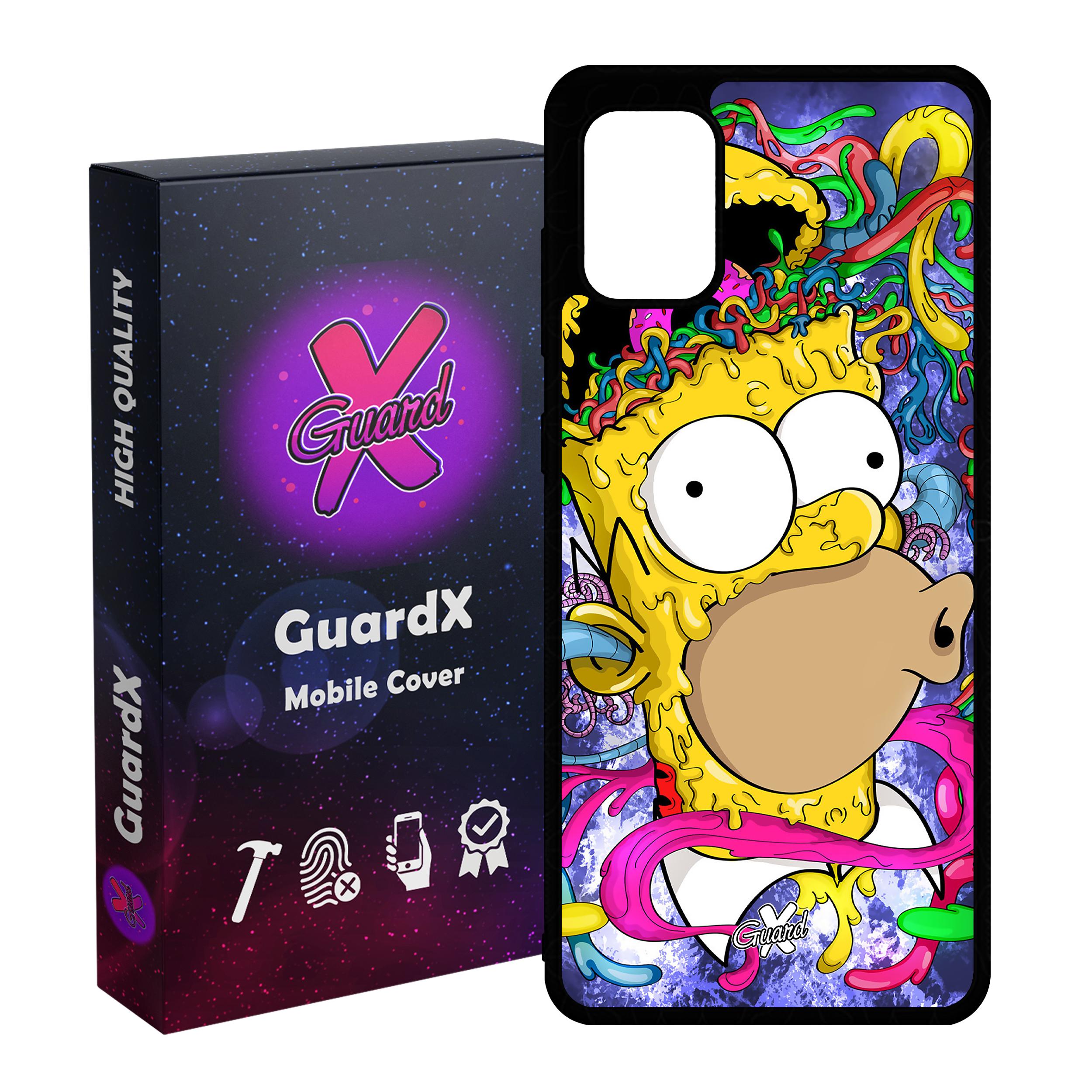 کاور گارد ایکس طرح Simpsons مدل Glass10096 مناسب برای گوشی موبایل سامسونگ Galaxy A51