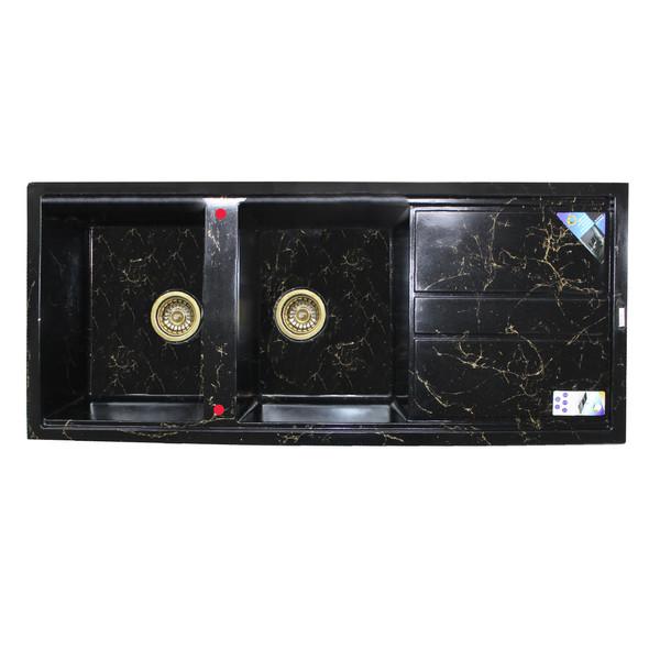 سینک ظرفشویی پارادایز مدل TURKEYBGOL202 توکار