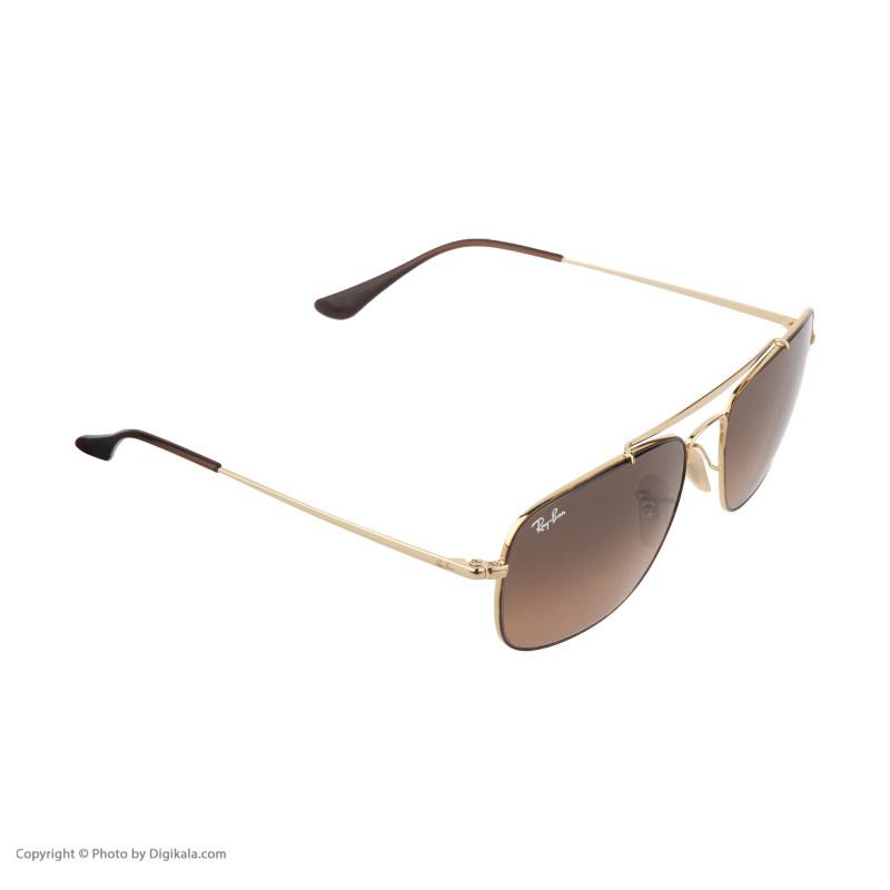 عینک آفتابی ری بن مدل RB3560S 910443 58