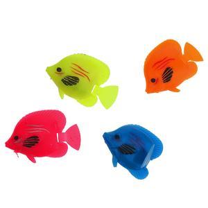 ماهی تزئینی آکواریوم مدل نگاه مجموعه ۴ عددی