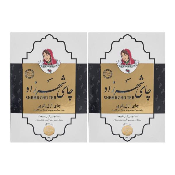 چای ارل گری شهرزاد - 500 گرم مجموعه 2 عددی