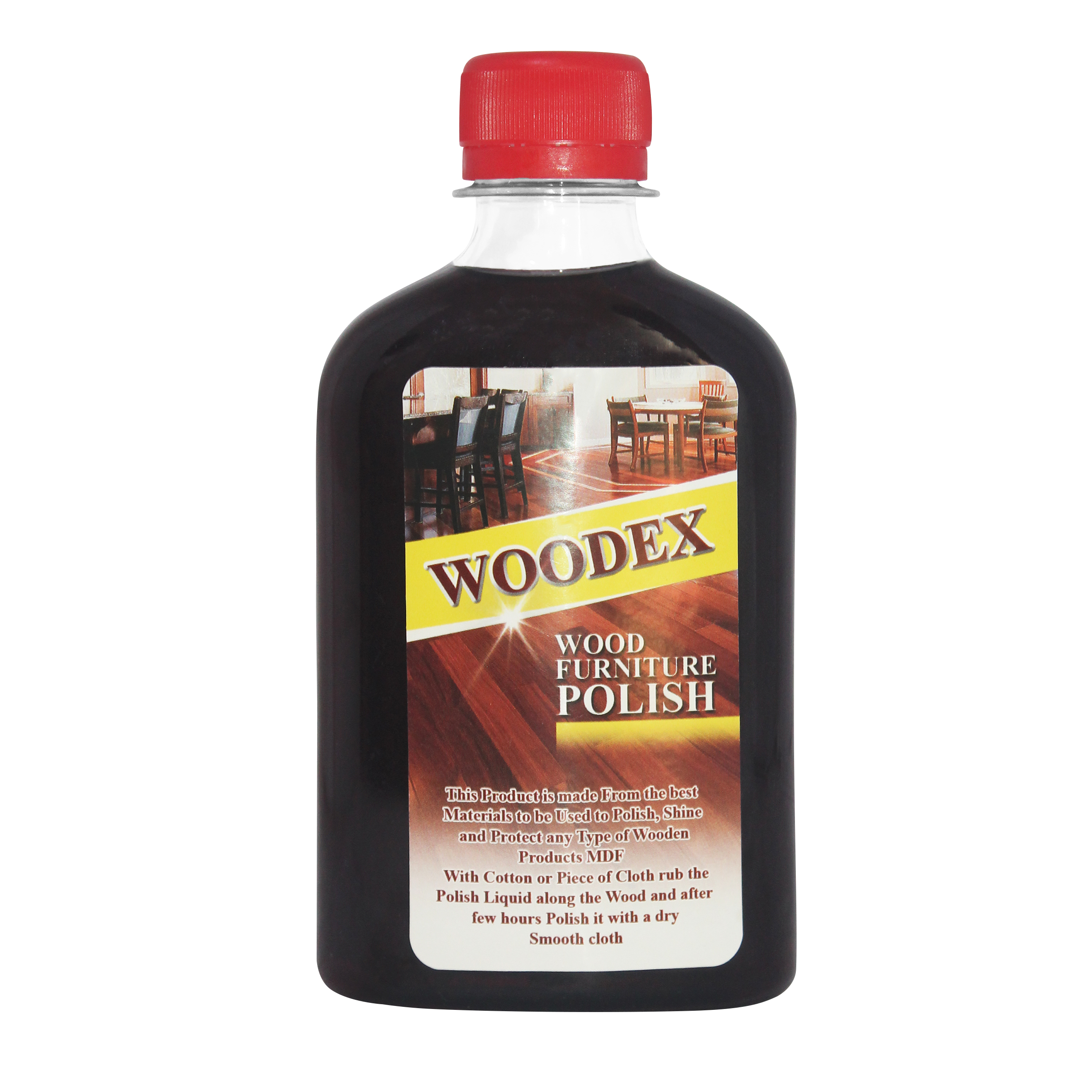 واکس براق کننده چوب وودکس مدل F حجم 250 میلی لیتر بسته 25 عددی              ( قیمت عمده )