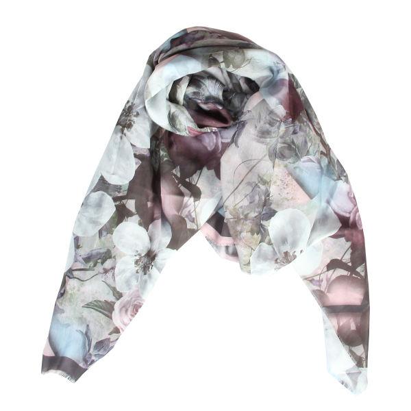 روسری زنانه طرح گل مدل AAA