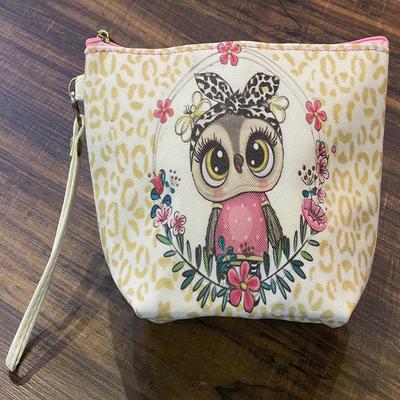 کیف لوازم آرایش زنانه طرح Lovely Owl مدل 01