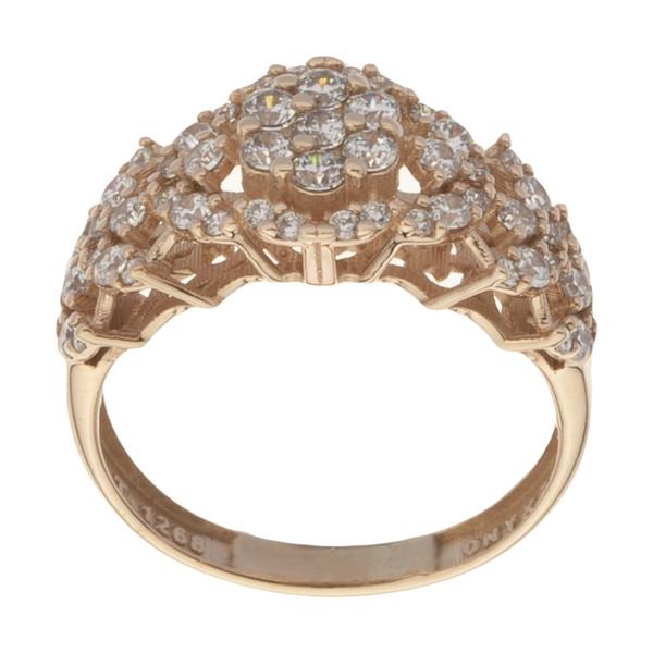 انگشتر طلا 18 عیار زنانه مایا ماهک مدل MR0428