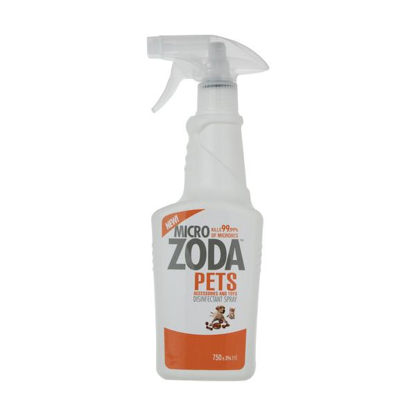 محلول ضد عفونی کننده حیوانات میکروزدا کد 02 حجم 750 میلی لیتر