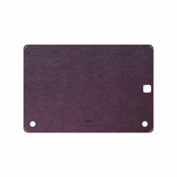 برچسب پوششی ماهوت مدل Purple-Leather مناسب برای تبلت سامسونگ Galaxy Tab A 9.7 2015 T550