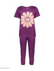 ست تی شرت و شلوارک راحتی زنانه مادر مدل 2041101-67 -  - 2