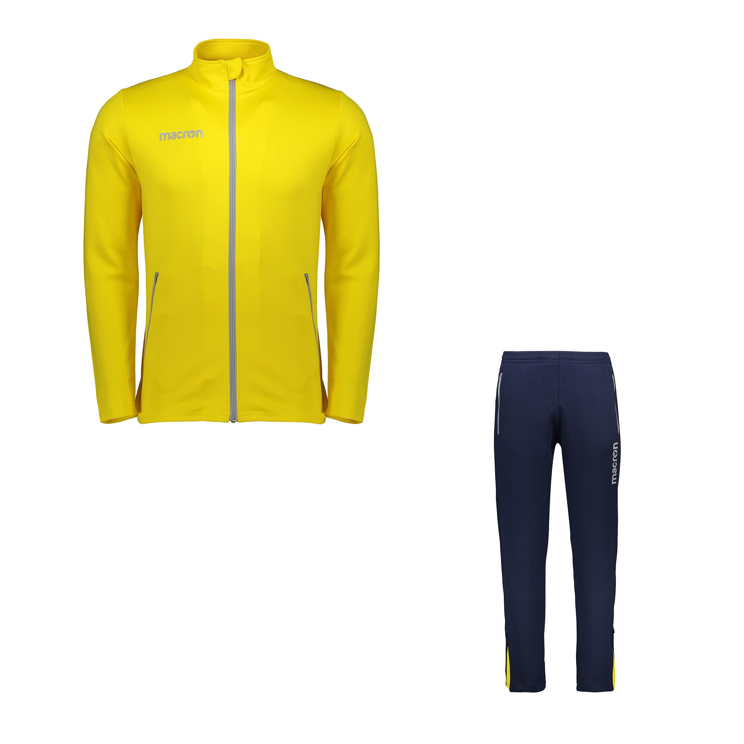 خرید                     ست سویشرت و شلوار ورزشی مردانه مکرون مدل نمسیس رنگ زرد