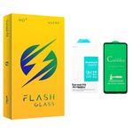 محافظ صفحه نمایش سرامیکی فلش مدل +HD مناسب برای گوشی موبایل سامسونگ GALAXY A21/ A21S