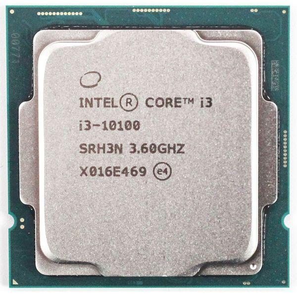 پردازنده مرکزی اینتل سری Coffee Lake مدل Core i3-10100