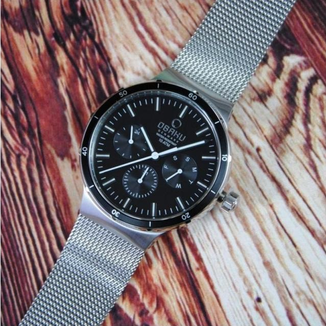 ساعت مچی عقربهای مردانه اباکو مدل V220GMCBMC