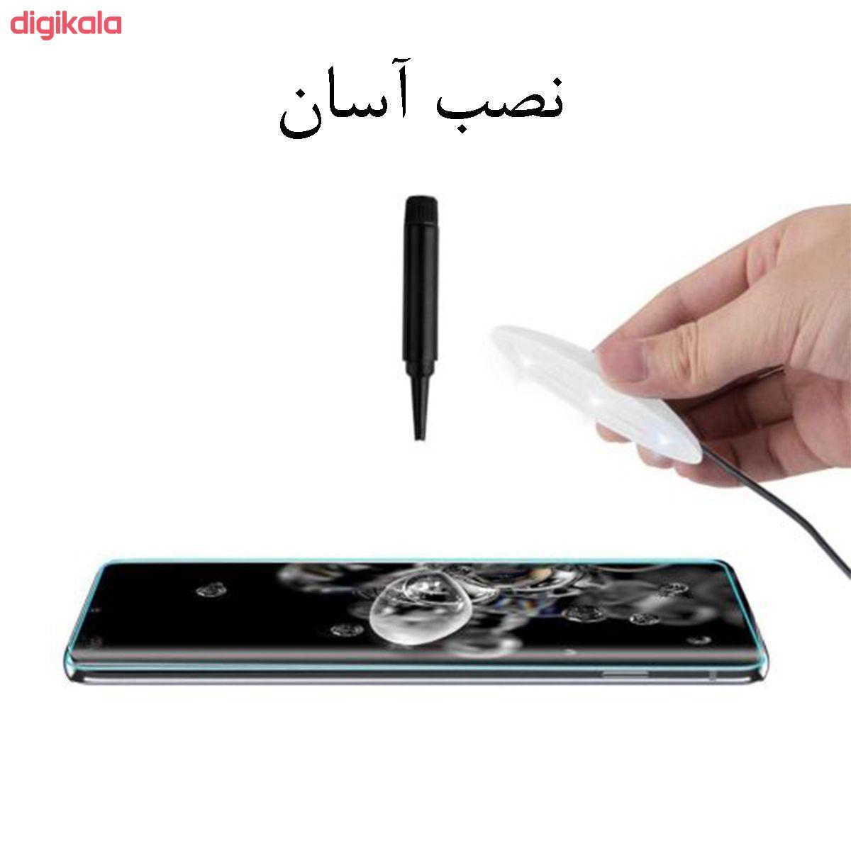 محافظ صفحه نمایش یووی مدل PHSI مناسب برای گوشی موبایل سامسونگ Galaxy note20 Ultra main 1 2