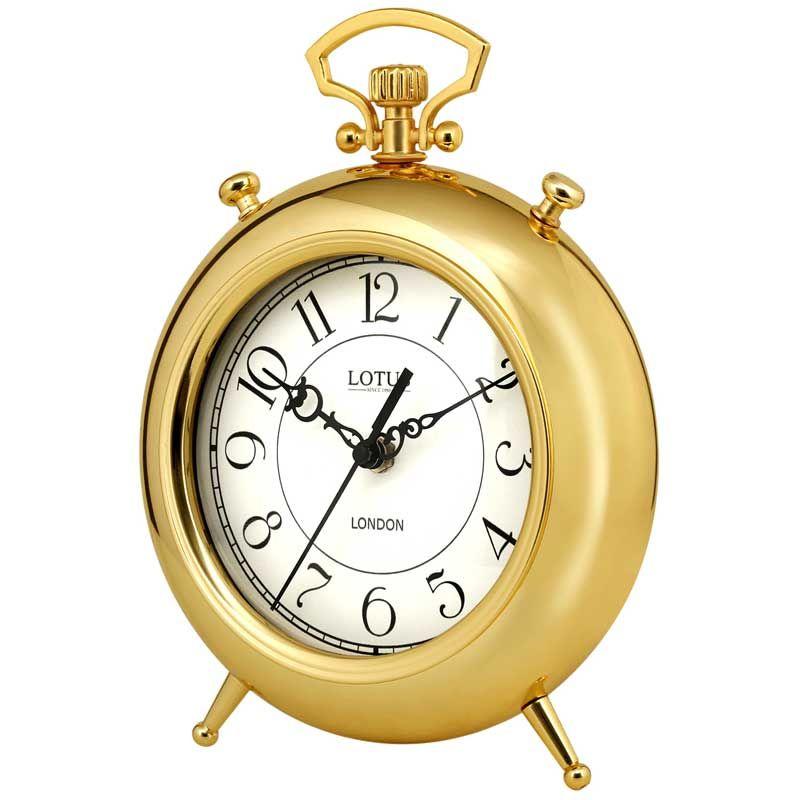 ساعت رومیزی لوتوس مدل BS-500-GOLD-SAN LUIS