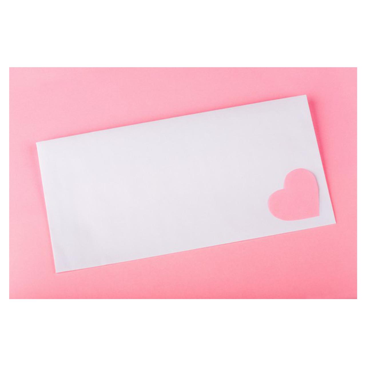 کارت پستال ماهتاب طرح قلب کد 1915