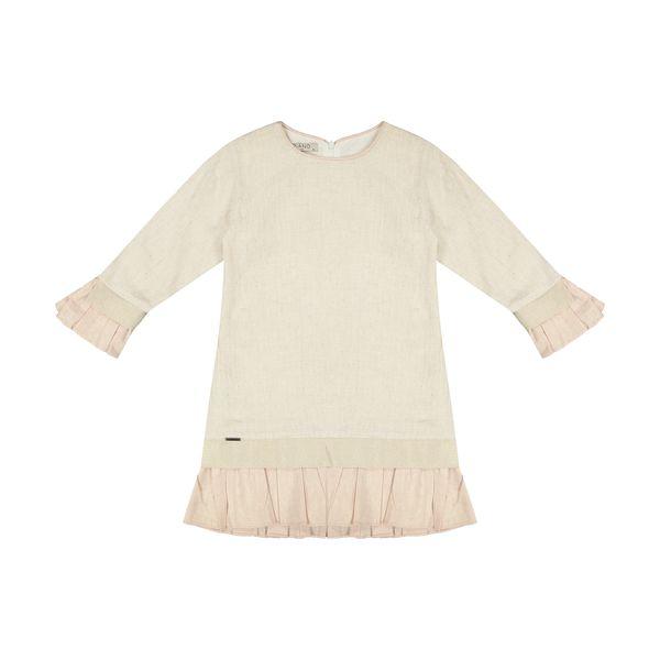 پیراهن دخترانه پیانو مدل 3593-07