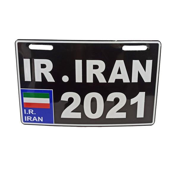پلاک موتور سیکلت طرح ایران مدل  BLK-2021