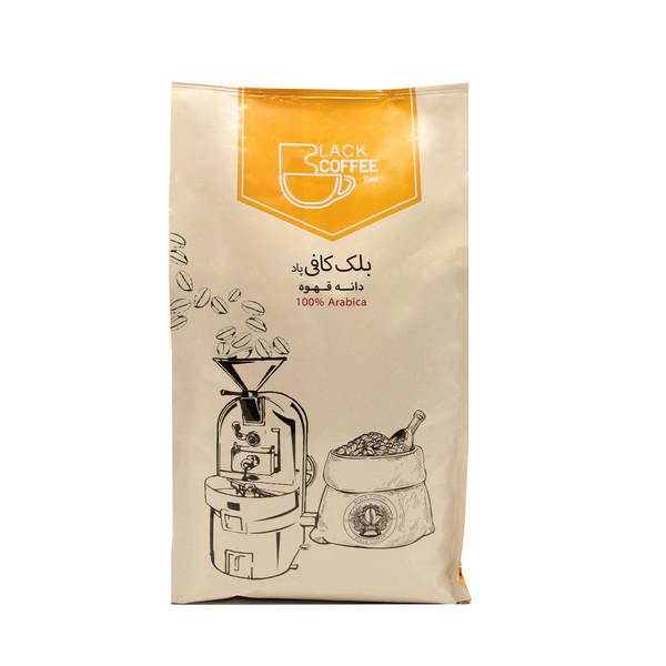 دانه قهوه فول کافئین بلک کافی - 1000 گرم