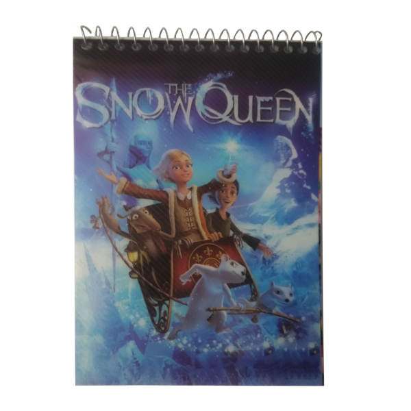 دفترچه یادداشت 60 برگ طرح Snow Queen مدل N-SD-T