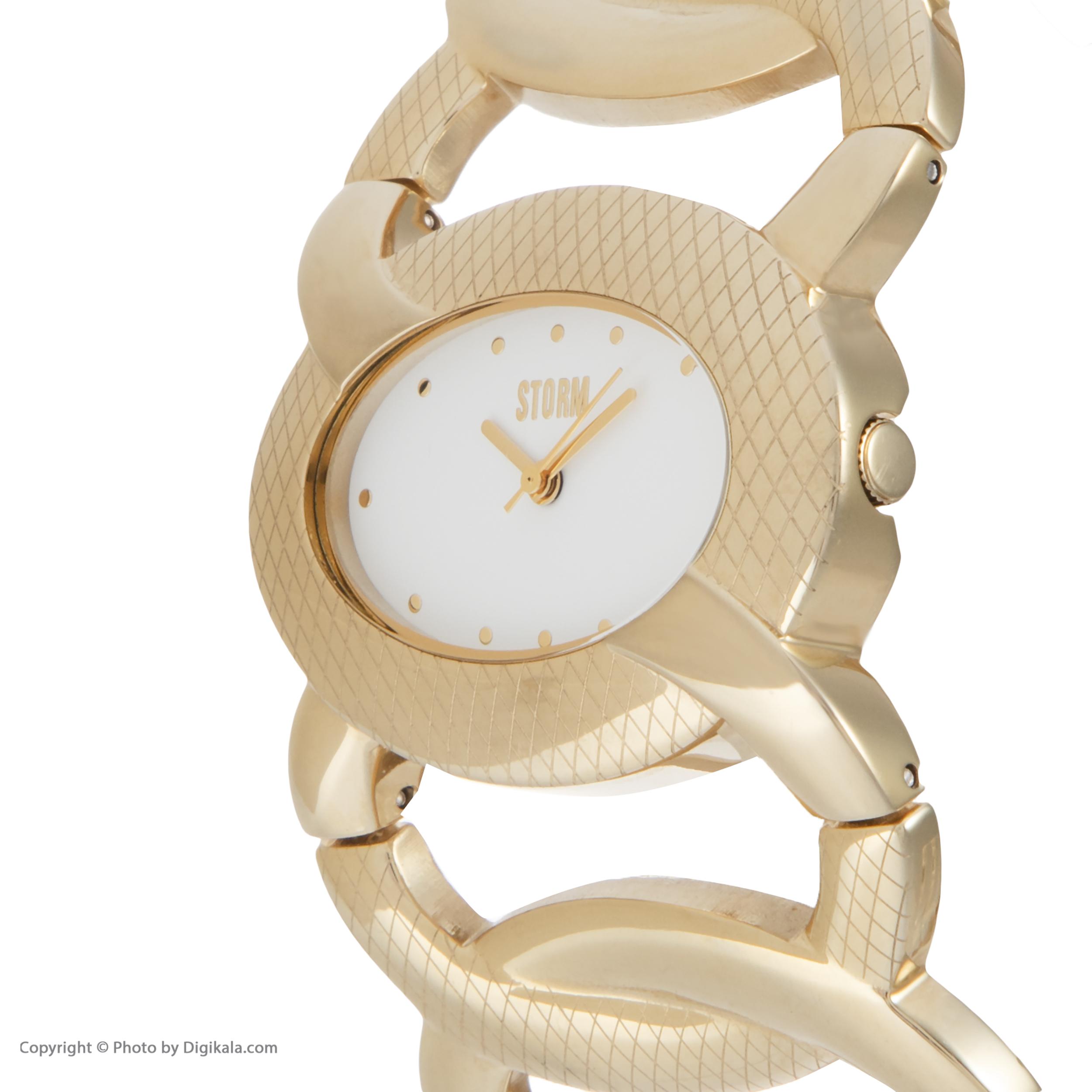 ساعت مچی عقربه ای زنانه استورم مدل ST 47125-GD              ارزان
