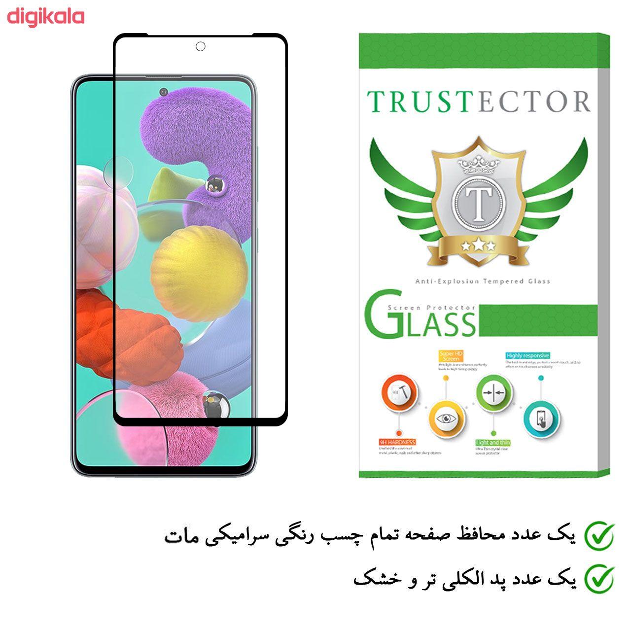 محافظ صفحه نمایش سرامیکی تراستکتور مدل CMT مناسب برای گوشی موبایل سامسونگ Galaxy A51 main 1 1
