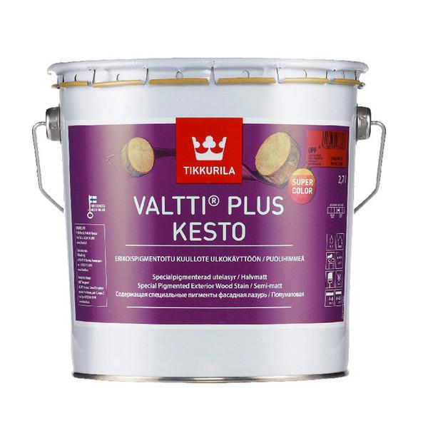 رنگ نیمه شفاف تیکوریلا مدل 5158 Valtti Plus Kesto Super Color حجم 3 لیتر