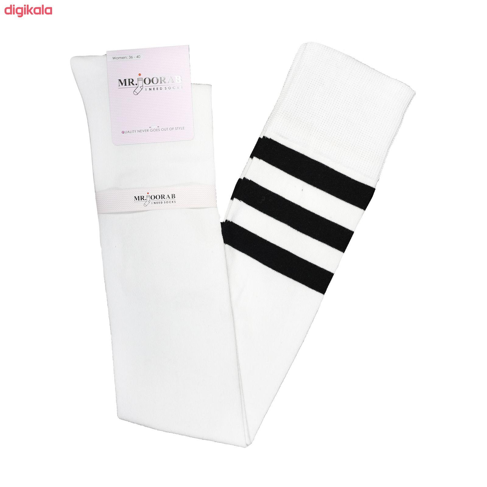 جوراب زنانه مستر جوراب کد RG-MR 308 بسته 2 عددی main 1 1