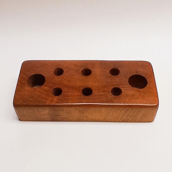 قلمدان چوبی مدل راش