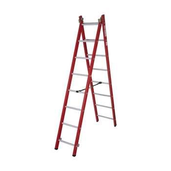 نردبان 16 پله آلوم پارس پله مدل تک صنعت 4