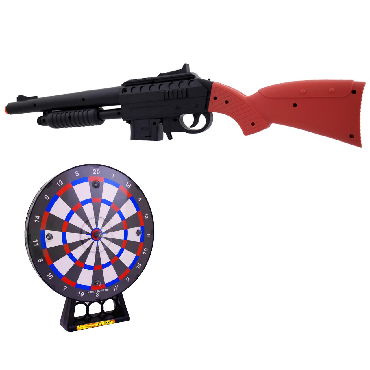 تفنگ بازی مدل پی لی دا کد 128569