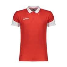پولوشرت ورزشی مردانه مکرون مدل دوکو رنگ قرمز