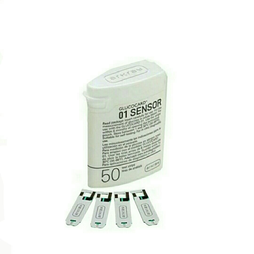 نوار دستگاه تست قند آرکری مدل GLUCODr بسته 50 عددی