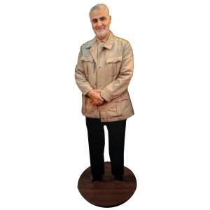 تندیس طرح شهید حاج قاسم سلیمانی مدل ME1