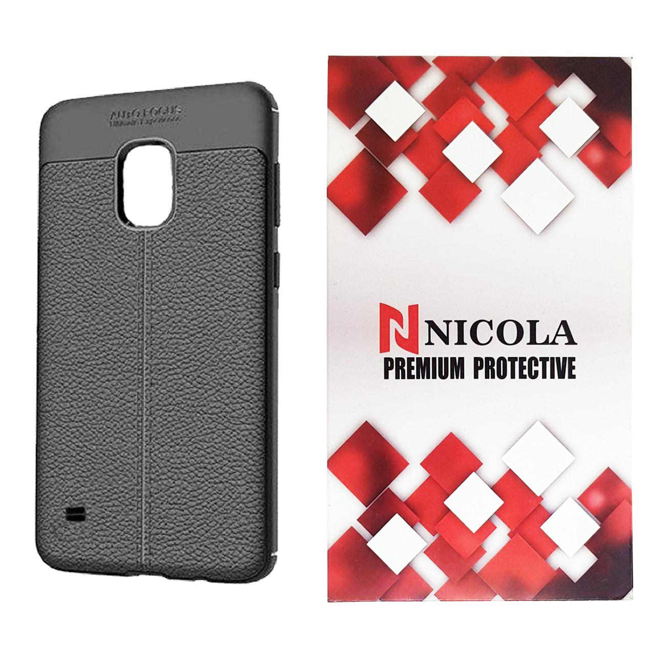 کاور نیکلا مدل N_ATO مناسب برای گوشی موبایل سامسونگ Galaxy S5