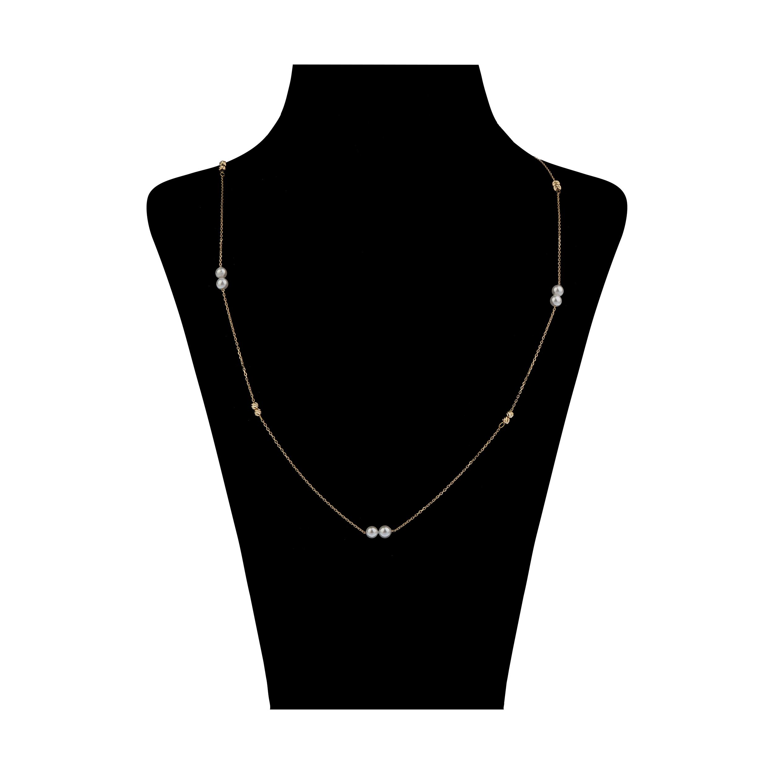 گردنبند طلا 18 عیار زنانه مایا ماهک مدل MM1354