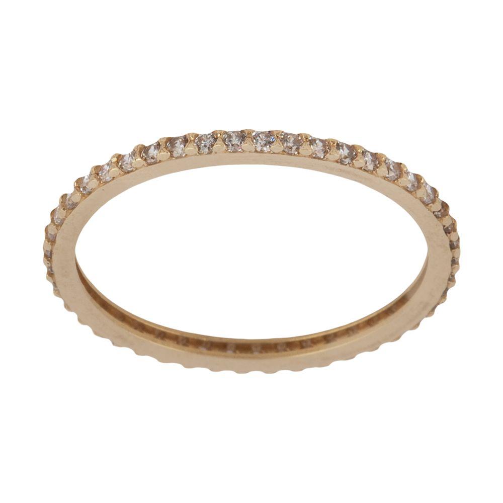 انگشتر طلا 18 عیار زنانه نیوانی مدل NR035