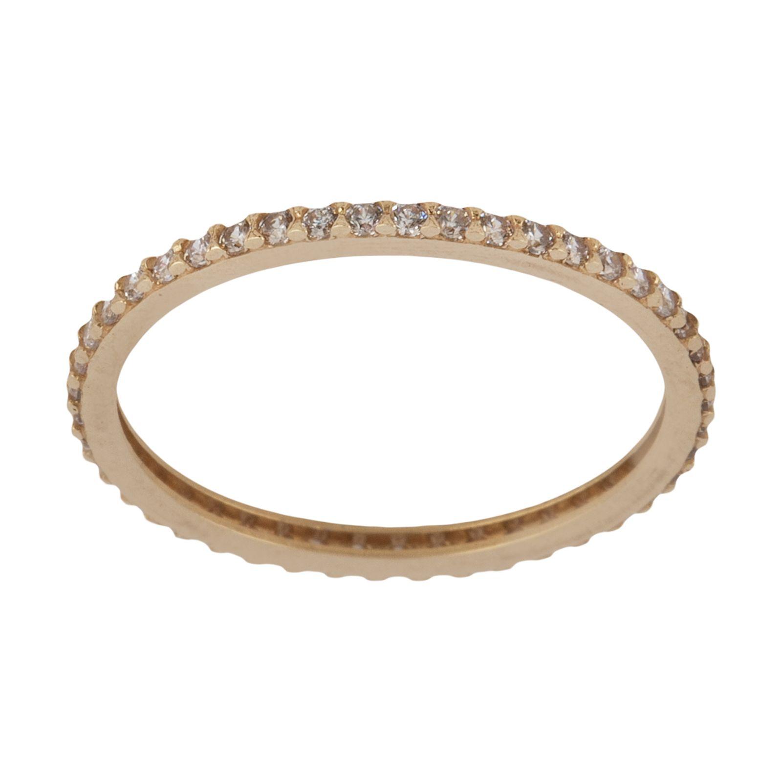انگشتر طلا 18 عیار زنانه نیوانی مدل NR035 -  - 2