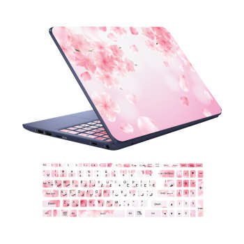 استیکر لپ تاپ کد  G-16 به همراه برچسب حروف فارسی کیبورد