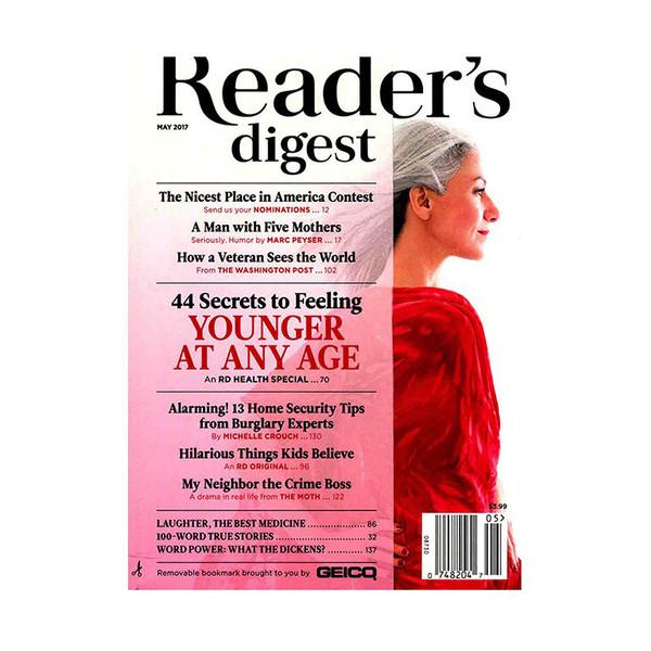 مجله ریدرز دایجست - می 2017