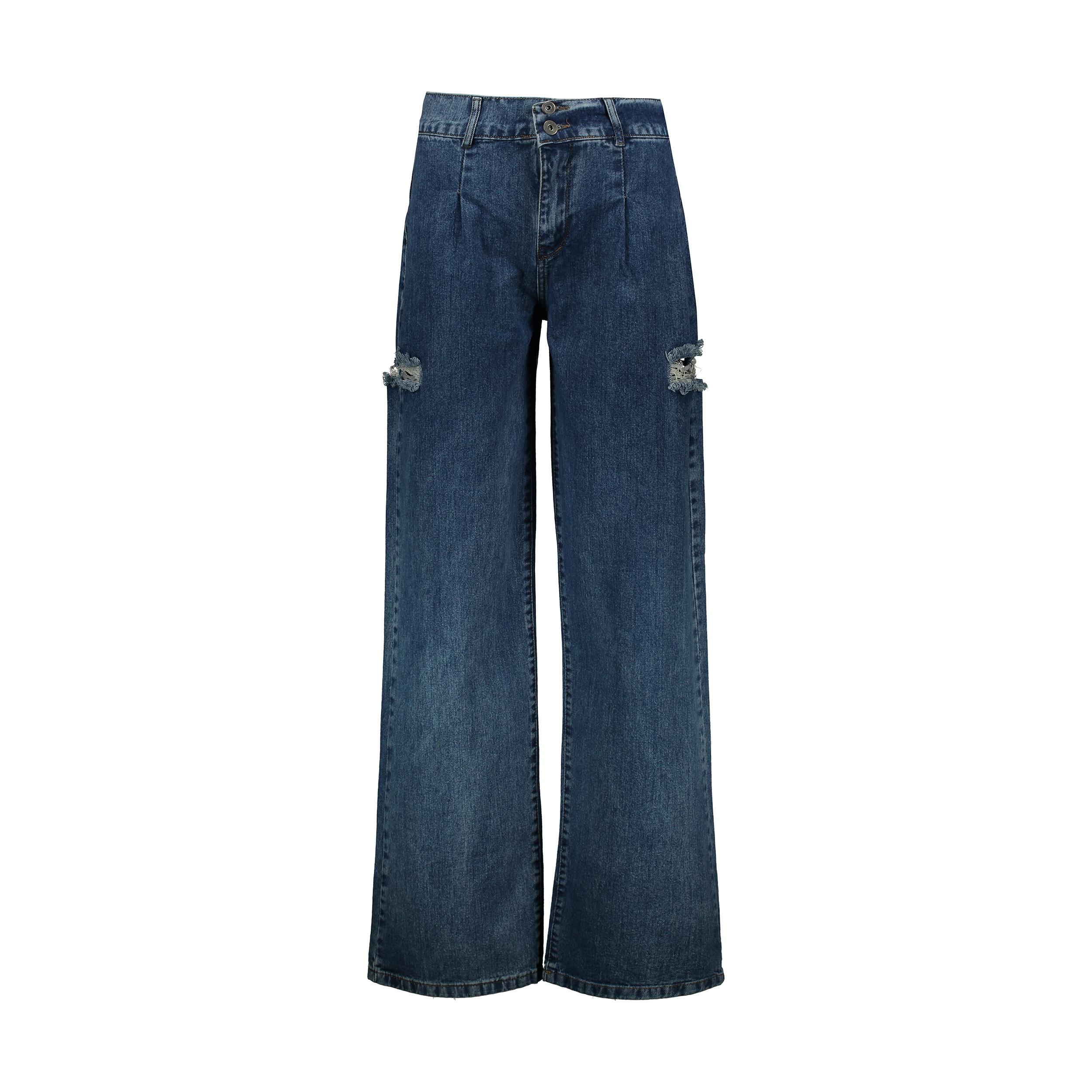 شلوار جین زنانه اکزاترس مدل I031001077080129-077