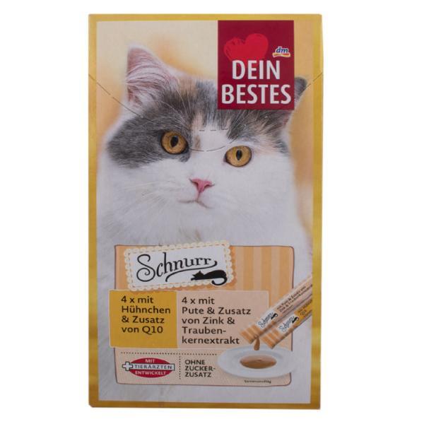 بستنی گربه دین بستس مدل SCHNUR2 بسته 8 عددی