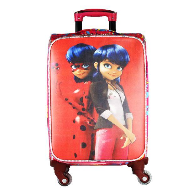چمدان کودک طرح دخترکفشدوزکی