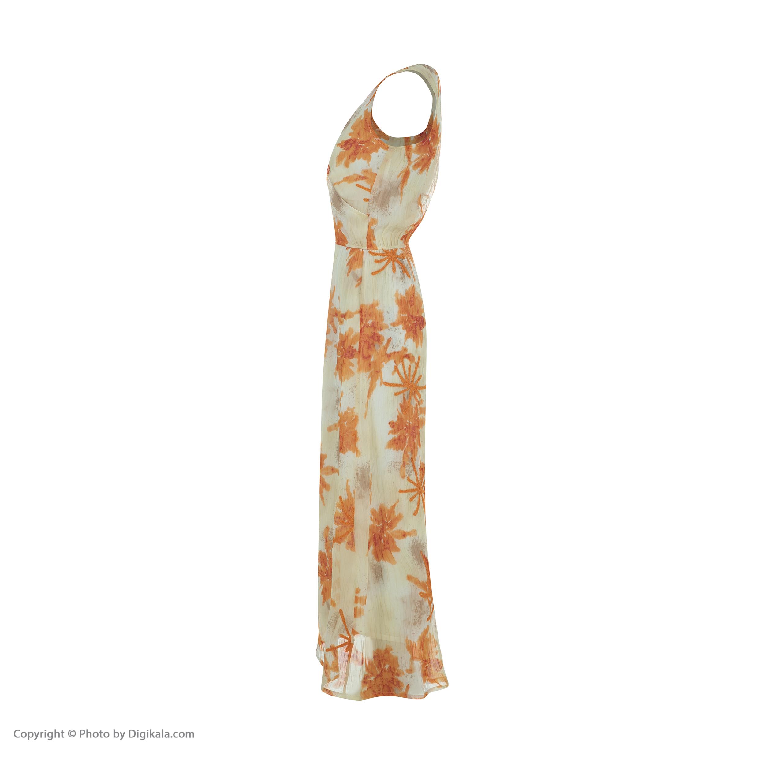 پیراهن زنانه کیکی رایکی مدل BB5316-010 -  - 4